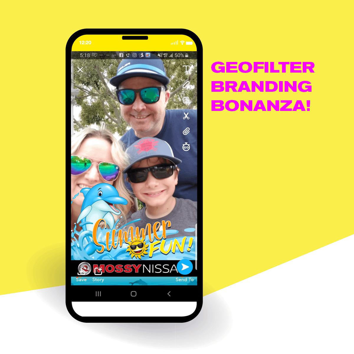 GEOFILTER BRANDING BONANZA