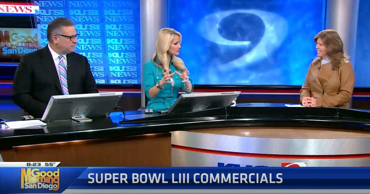 Kathy-Cunningham Super Bowl Commercial
