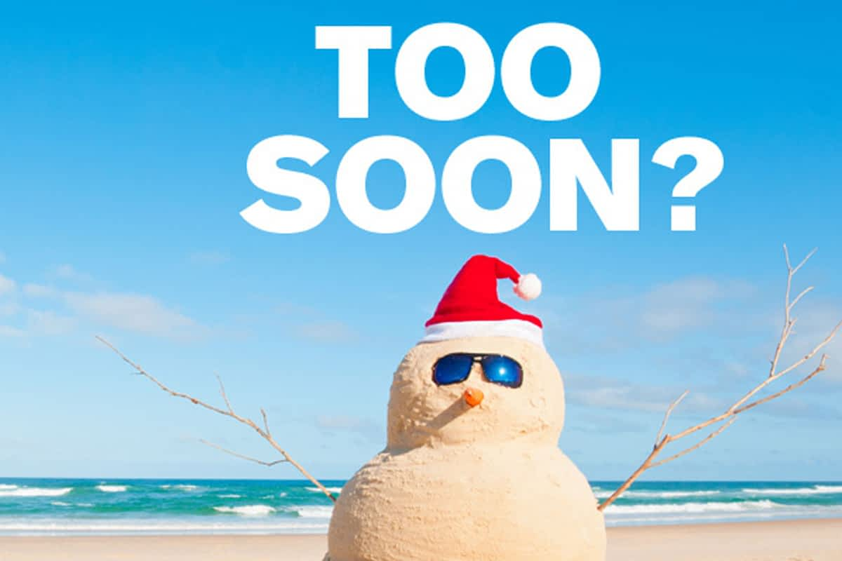 "Christmas Creep! How Soon Is ""too Soon"" To Advertise Holiday Sales?"